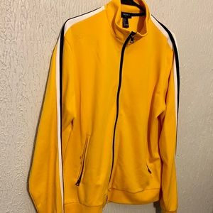 Men's Yellow Track Jacket